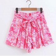 Two-color printed color beach casual sho - Shorts - $25.99