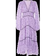 Ulla Johnson Lilac Midi Dress - Dresses -
