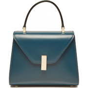 VALEXTRA Iside Mini Leather Tote - Carteras tipo sobre -
