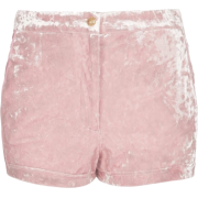 VELVET SHORTS - Shorts -