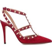 Valentino Garavani Rockstud suede pumps - 经典鞋 -