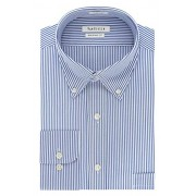 Van Heusen Men's Dress Shirt Regular Fit Pinpoint Stripe - Shirts - $16.99
