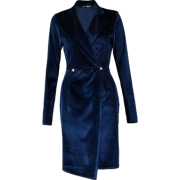 Velvet Blazer Dress - Other -