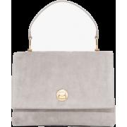 Velvet White Bag - Hand bag -