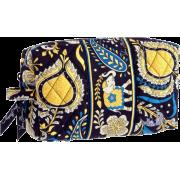 Vera Bradley Medium Cosmetic Ellie Blue - Hand bag - $25.00
