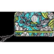 Vera Bradley Turn Lock Wallet Island Blooms - Wallets - $46.00