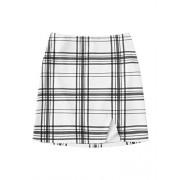 Verdusa Women's Split Hem Bodycon Short Mini Skirt - Skirts - $12.99