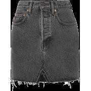 Vetements Levi Miniskirt - Black - Suknje -