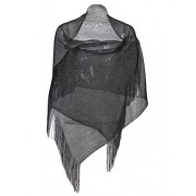 Vijiv Women's 1920s Gatbsy Vintage Shawl Wrap For Bridal Prom Wedding Party Evening Dresses - Top - $11.99
