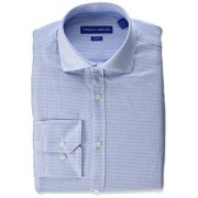Vince Camuto Men's Slim Fit Spread Collar Solid Dress Shirt - Shirts - $15.66
