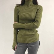 Vintage Turtleneck Long Sleeve Finger So - Bolero - $27.99  ~ 24.04€