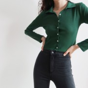 Vintage polo high waist single-breasted - My look - $25.99