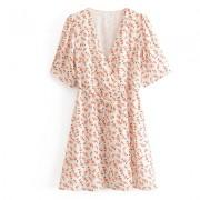 V-neck one-piece wrap dress European and - Haljine - $27.99  ~ 177,81kn