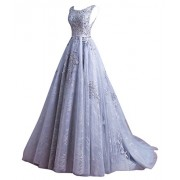 WDING Elegant Evening Dresses For Women Long Formal Evening Gowns Prom Dresses - Dresses - $199.00