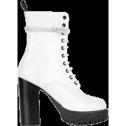 WHITE HEAVY TREAD HEELED BOOT - Stiefel - $595.00  ~ 511.04€