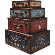 WHW Whole House Worlds Traveler trunks - Articoli -