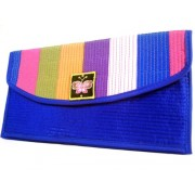 Wallet Bag - Rainbow Blue Wallet by WiseGloves - Accessories - $9.99