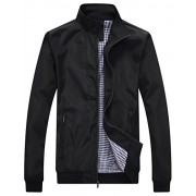 Wantdo Men's Lightweight Bomber Jacket Spring Windbreaker Casual Sport Zip Outerwear - Outerwear - $59.94  ~ 380,77kn