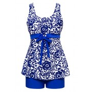Wantdo Women's Tankini Two Piece Swimsuit Slimming Swimwear - Kupaći kostimi - $28.46  ~ 180,79kn