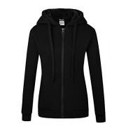 Wantdo Women's Warm Hoodie Sweatshirt Slim Fit Sherpa Lined Thick Zip Hooded Fleece Jacket - Košulje - kratke - $69.99  ~ 444,62kn