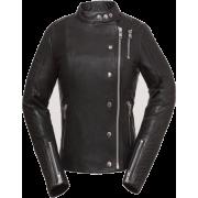 Warrior Womens Bikers Black Moto Cowhide Leather Jacket - Jacket - coats - 223.00€  ~ $259.64