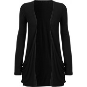 WearAll Women's Long Sleeve Pocket Cardigan - Shirts - $1.46