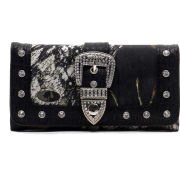 Western Buckle Camouflage Womens - Clutch bags -