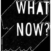 What Now? - Textos -