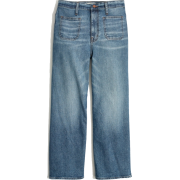 Wide-Leg Crop Jeans in Chesney Wash - Jeans - $128.00  ~ 109.94€