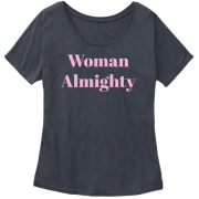 Woman Almighty Graphic Tee - T-shirts - $22.99