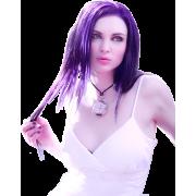 Woman Purple - People -