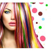 Woman (colourful hair) - Persone -