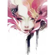 Woman watercolour - Illustrazioni -