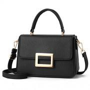 Women Girl 3 Compartment Crossbody Hobo Leather Switchable Handbag Single Shoulder Message Bag - Bag - $29.99