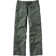 Women's Island Hemp Pants Mission Olive - Calças - $79.00  ~ 67.85€