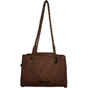 Women's Ivanka Trump Brooke Tote Handbag (Medium Brown) - Bolsas - $175.00  ~ 150.30€