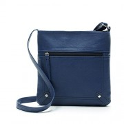 Women Large Shoulder Bag Handbag Cross-body Bags Cheap Colors for Girl by TOPUNDER YB - Hand bag - $7.99