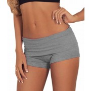 Womens Comfortable Active Foldover Gym Workout Fitted Cotton Shorts - Брюки - короткие - $8.99  ~ 7.72€