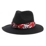 Women's Panama Summer UV Protection Sun Straw Hat - Hat - $11.68