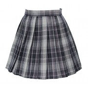 Women`s high Waisted Plaid Short Sexy A line Skirts Costumes - Skirts - $39.99
