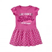 Wrangler W43208411 Baby Girls Short Sleeve Dress- Pink - Dresses - $17.99