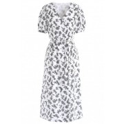 Wrap Dress - Dresses -