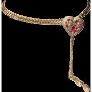 Yves Saint Laurent jewel belt - Necklaces - $1,256.00