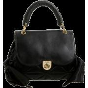 Z Spoke Women's Zac Sac ZS602 Satchel Black - Hand bag - $386.75