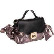 Z Spoke Zac Posen Women's Zac Sac Mini Bronze Sparkle - Bag - $147.50