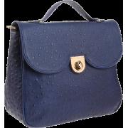 Z Spoke Zac Posen Women's Zac Sac Shoulder Bag Navy - Bag - $161.56