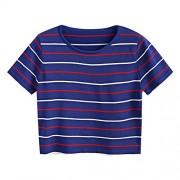 ZAFUL Women Casual Tops Summer Short Sleeve Top Tee Graphic Cute T-Shirt - Top - $13.99