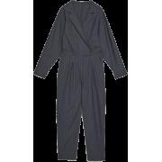 Zara pinstripe jumpsuit - Overall -