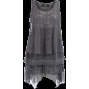 Zay brand Grey Loose Tank - Majice bez rukava -