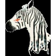 Zebra - Ilustrationen -